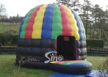 Colorful Outdoor Inflatable Party Tent Disco Dome Bouncy Castle EN14960