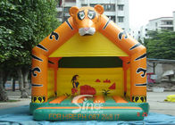 Lovely Blow Up Kids Inflatable Tiger Jumping Castles dla dzieci Nadmuchiwany Bouncy Castle Fun