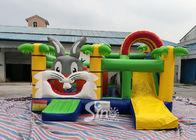 Kids Party Jungle Rabbit Inflatable Bouncy Castle For Indoor Inflatable Indoor Playground Fun