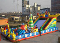 Chiny Outdoor Inflatable Games Giant Inflatable Amusement Park firma